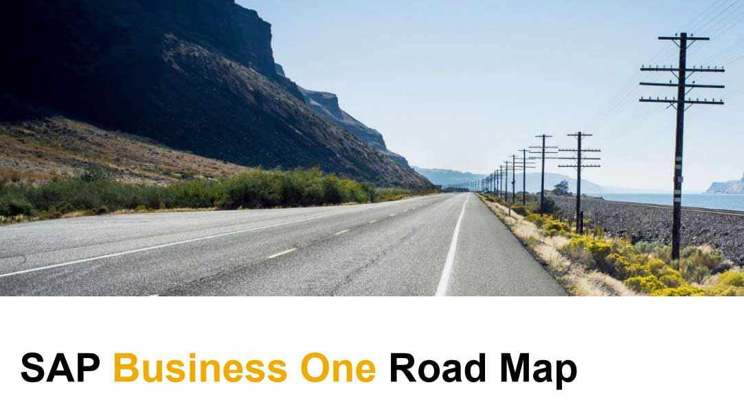 sap business one road map