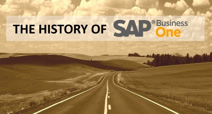 sap business one history cover